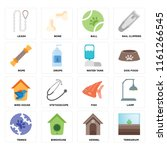 set of 16 icons such as... | Shutterstock .eps vector #1161266545