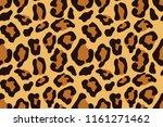 leopard seamless pattern.... | Shutterstock .eps vector #1161271462