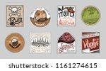 vintage american badge.... | Shutterstock .eps vector #1161274615
