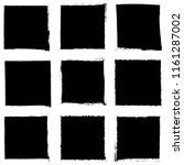 grunge square artistic... | Shutterstock .eps vector #1161287002
