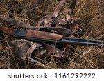 double barreled shotgun and...