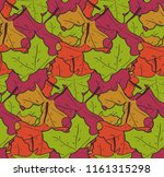 cute seamless pattern with mess ... | Shutterstock .eps vector #1161315298