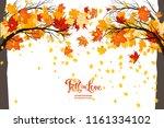 maple fall trees   Shutterstock .eps vector #1161334102