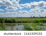 cloudy blue sky and skyline of... | Shutterstock . vector #1161339232