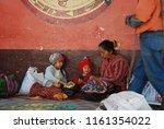 chichicastenango  guatemala nov ... | Shutterstock . vector #1161354022