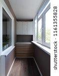 balcony  loggia  after repair....   Shutterstock . vector #1161355828