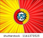 comic fight and duel template... | Shutterstock .eps vector #1161373525