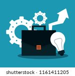 business and office elements | Shutterstock .eps vector #1161411205
