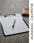 a studio photo of a business... | Shutterstock . vector #1161490738