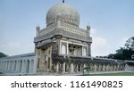 qutub shahi tombs in hyderabad  ... | Shutterstock . vector #1161490825
