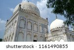 qutub shahi tombs in hyderabad  ... | Shutterstock . vector #1161490855