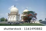 qutub shahi tombs in hyderabad  ... | Shutterstock . vector #1161490882