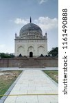 qutub shahi tombs in hyderabad  ... | Shutterstock . vector #1161490888