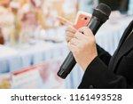seminar conference concept ... | Shutterstock . vector #1161493528