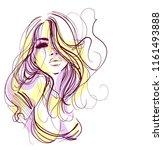vector  stylish  original hand... | Shutterstock .eps vector #1161493888