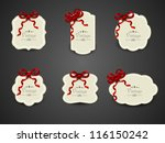 vintage label  tag  stickers or ... | Shutterstock .eps vector #116150242