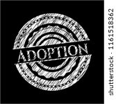 adoption with chalkboard texture | Shutterstock .eps vector #1161518362