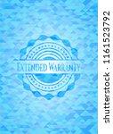 extended warranty sky blue... | Shutterstock .eps vector #1161523792