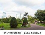 boston  massachusetts   august... | Shutterstock . vector #1161535825