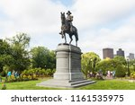 boston  massachusetts   august... | Shutterstock . vector #1161535975