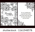 vintage delicate greeting... | Shutterstock .eps vector #1161548578