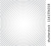 gray halftone of halftone dots... | Shutterstock .eps vector #1161556318
