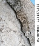 crack concrete road texture   Shutterstock . vector #1161571588