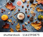 Cozy Autumn Morning With Cup O...