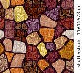 abstract random grunge pattern... | Shutterstock .eps vector #1161597355