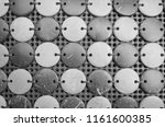 black and white pattern of... | Shutterstock . vector #1161600385