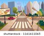 trendy cartoon gradient style... | Shutterstock .eps vector #1161611065