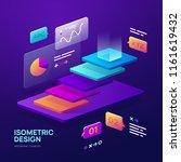 vector infographic elements....   Shutterstock .eps vector #1161619432