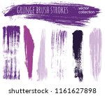 paint lines grunge collection.... | Shutterstock .eps vector #1161627898