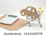 Miniature Wooden Car  Shopping...