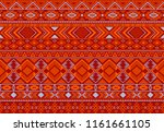 boho pattern tribal ethnic... | Shutterstock .eps vector #1161661105