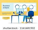 vector illustration of business ...   Shutterstock .eps vector #1161681502