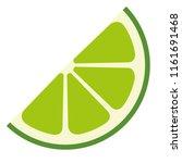 fresh lemon citrus fruit | Shutterstock .eps vector #1161691468