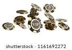 3d rendering image of golden... | Shutterstock . vector #1161692272