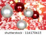 christmas decoration | Shutterstock . vector #116170615