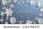 christmas illustration with... | Shutterstock .eps vector #1161706372