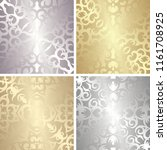 set of four template of... | Shutterstock . vector #1161708925