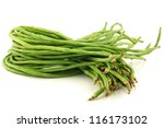 Bundle Of Fresh Long Beans...