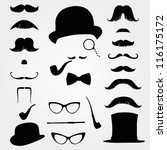 Mustaches And Other Retro...