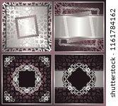 set of modern invitations.... | Shutterstock . vector #1161784162