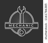 auto mechanic service. mechanic ... | Shutterstock .eps vector #1161786385