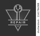 auto mechanic service. mechanic ... | Shutterstock .eps vector #1161786388