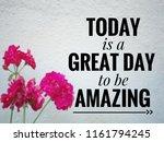 motivational and inspirational... | Shutterstock . vector #1161794245