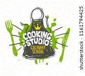 cooking studio  culinary school ... | Shutterstock .eps vector #1161794425