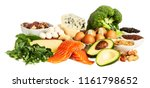 keto diet food ingredients | Shutterstock . vector #1161798652
