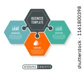 vector infographics template... | Shutterstock .eps vector #1161800398